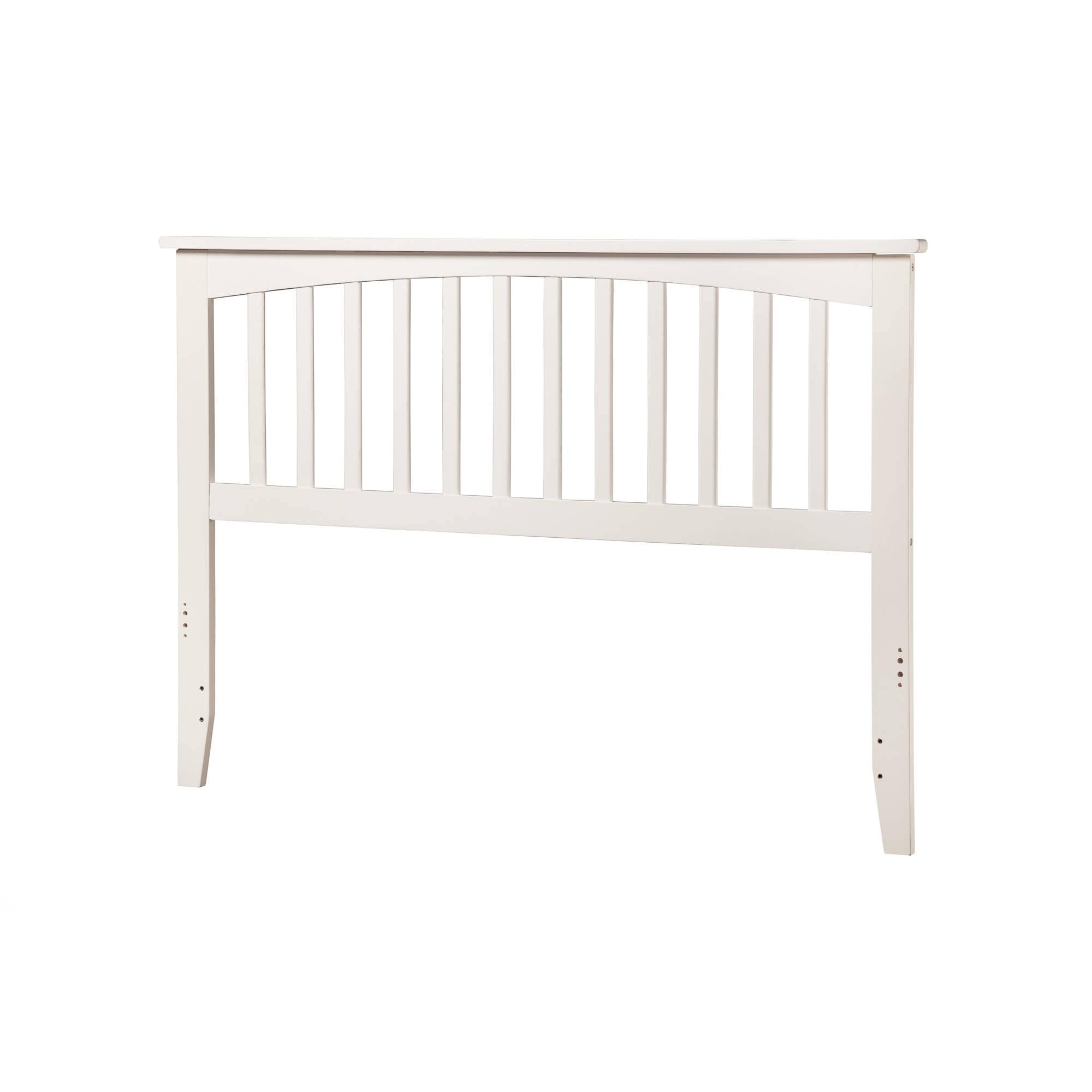 Atlantic Furniture Mission Headboard Queen White (As Is I...