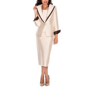 Ella Belle Women's Contast Layered Collar 3-piece Skirt Suit|https://ak1.ostkcdn.com/images/products/12512296/P19318977.jpg?impolicy=medium
