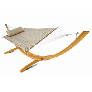 Hatteras Polypropylene Large Soft-weave Spreadar Bar-style Hammock