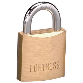 Fortress 1825D Solid Brass Padlock