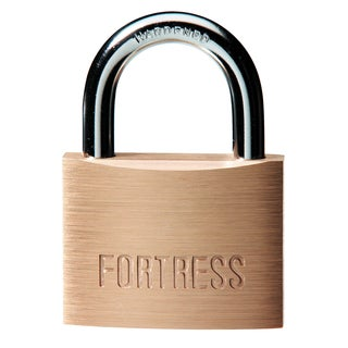 Fortress 8850D Solid Brass Padlock