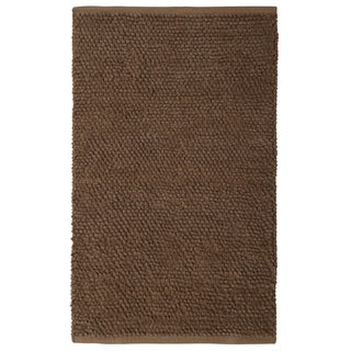 Plush Nubby Coffee  Bath Rug (30 x 50-inch)
