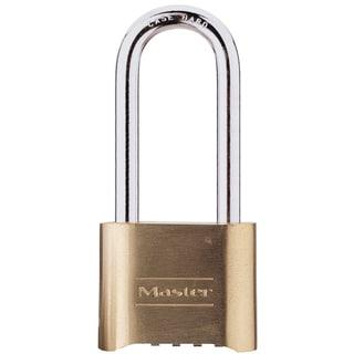 "Master Lock 175DLH 2"" Resettable Brass Combination Padlock"
