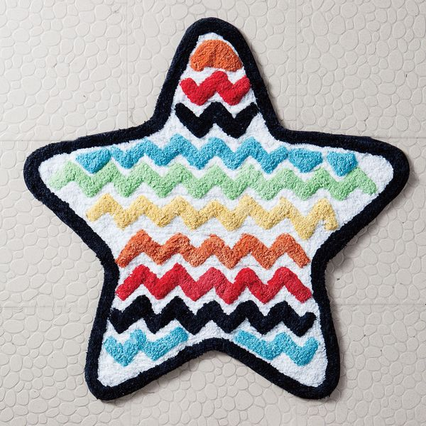 VCNY Rock Star Bath Rug