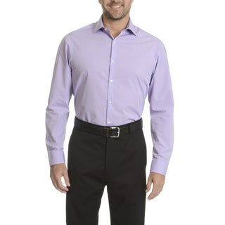 Perry Ellis Men's Slim-fit Wrinkle-free Dress Shirt