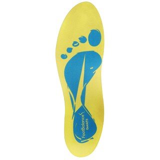 FootBalance Quickfit Yellow Narrow/ Mid-high Custom Insoles