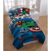 Marvel Comics 'Good Guys' 6-piece Bed in a Bag Set