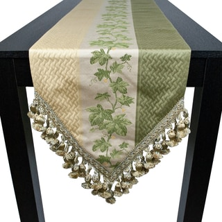 Sherry Kline Ivy Lemon Table Runner