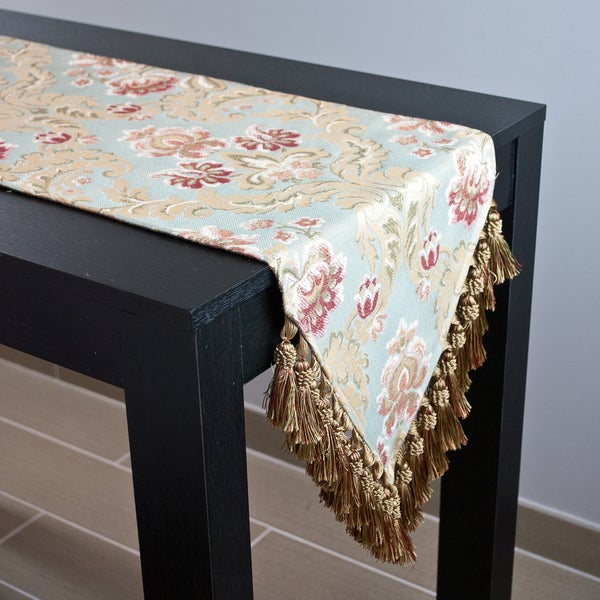 Table Runner Maroon Kitchen