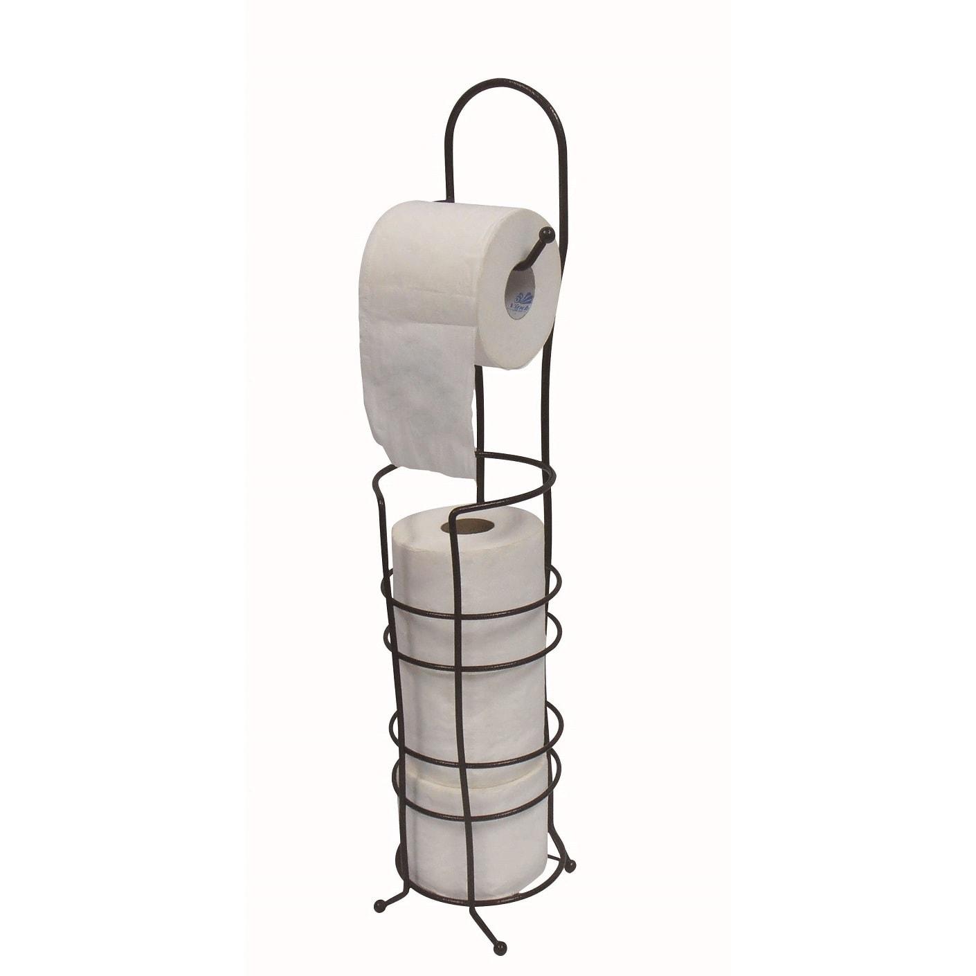 Free Standing Toilet Paper Holder Overstock 12512665