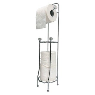 Toilet Paper Holder & Reserve