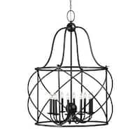 Sea Gull Turbinio 10 Light Blacksmith Pendant