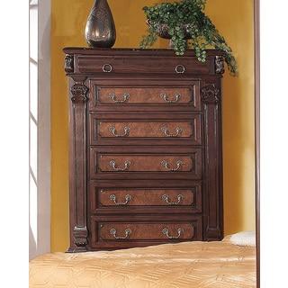 Grand Prado Cherry Wood 5-drawer Chest