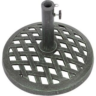 Trademark Innovations 17.7-inch Diameter Cast Iron Umbrella Base