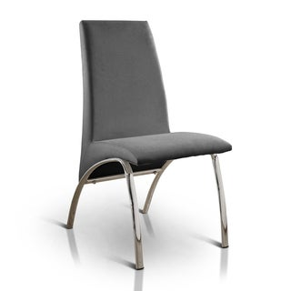 Oliver & James Yves Arched Leatherette Dining Chair (Set of 2)