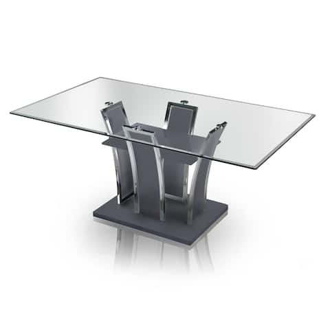 Ziana Contemporary 72-inch Rectangular Dining Table by FOA