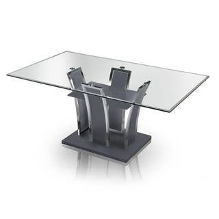 Glass Kitchen & Dining Room Tables For Less | Overstock.com