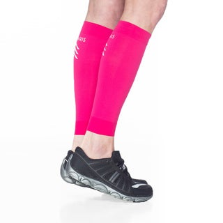 Sigvaris Pink Nylon Sports Performance Graduated Compression Calf Sleeve