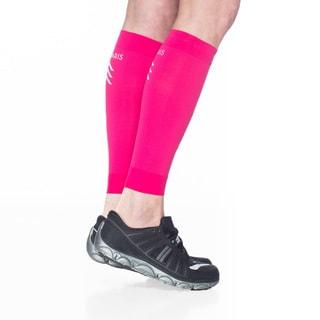 Sigvaris Pink Nylon Sports Performance Graduated Compression Calf Sleeve (Option: Pink)