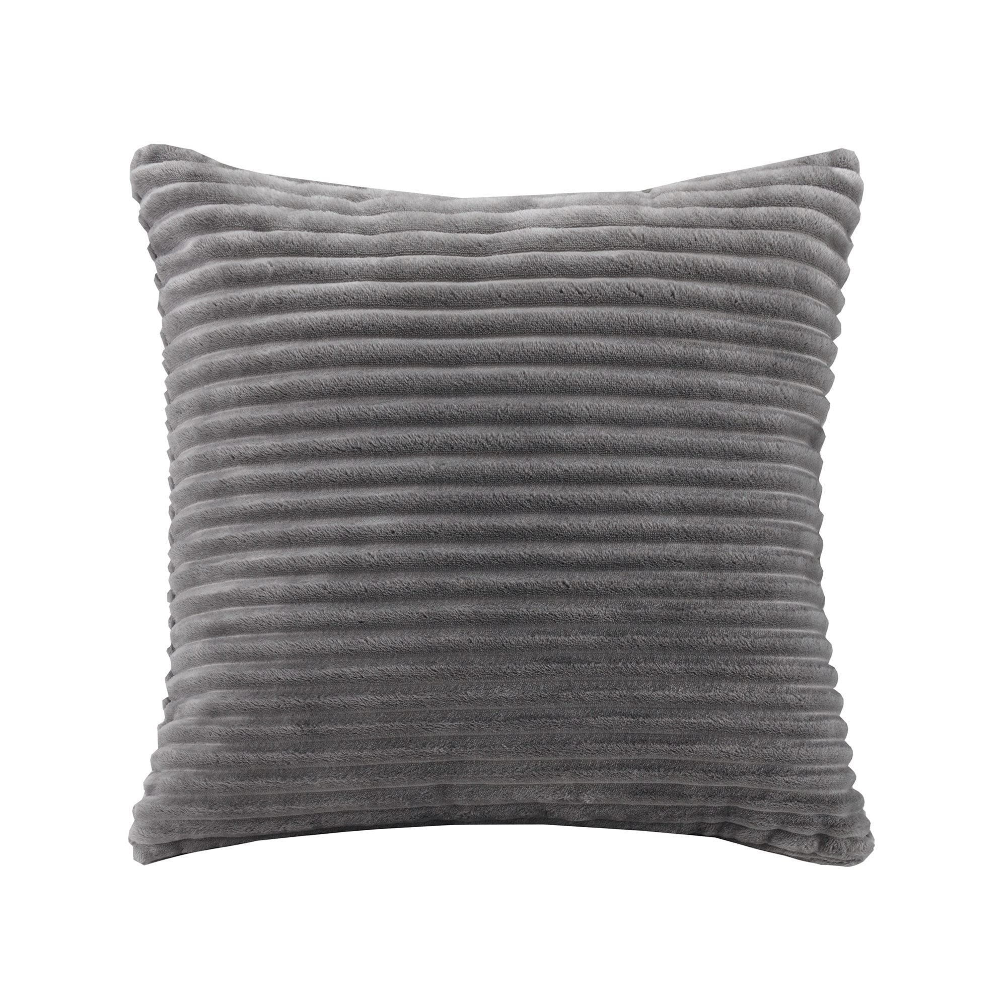 Premier Comfort Williams Corduroy Plush Square Throw Pillow 4-Color Options