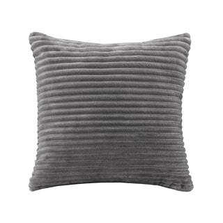 Premier Comfort Williams Corduroy Plush Square Throw Pillow 4-Color Options - Thumbnail 0