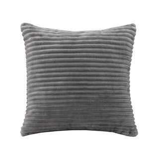 Premier Comfort Williams Corduroy Plush Square Throw Pillow 4-Color Options