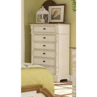 Coaster Company Oleta Collection Oak Wood/Veneer 6-drawer Chest
