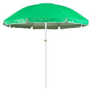 Trademark Innovations Portable Green 6.5-foot Beach and Sports Umbrella