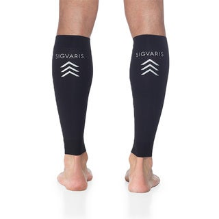 Sigvaris Black Sports Performance Graduated Compression Calf Sleeve
