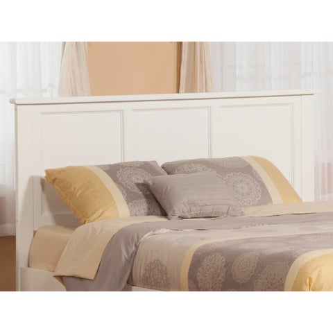 Madison White Queen-sized Headboard