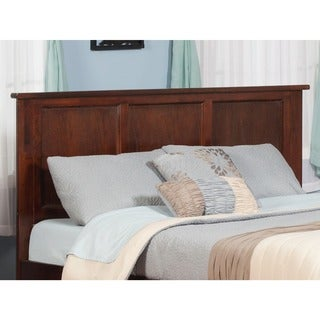 Atlantic Furniture Madisun Walnut Wood Queen Headboard
