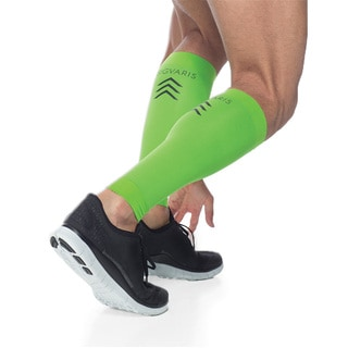Sigvaris Lime Green Sports Performance Compression Calf Sleeves