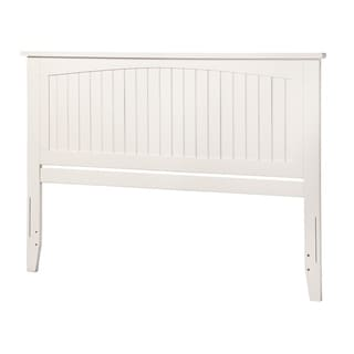 Nantucket White Queen-sized Headboard