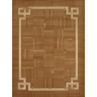 Gallery Nena Grey/Blue Polypropylene Accent Rug (1'10 x 3')