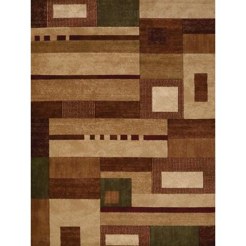 Westfield Home Gallery Tala Multicolored Polypropylene Area Rug - 7'10 x 10'6