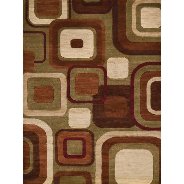 Westfield Home Gallery Ayanna Multicolor Synthetic Area Rug - 7'10 x 10'6