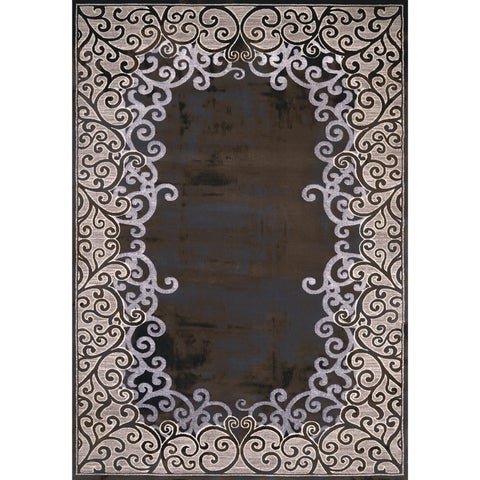 Mirage Luminous Geometric Area Rug by Christopher Knight Home - 5'3 x 7'2
