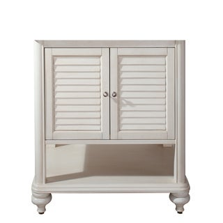 Avanity Tropica 30 in. Vanity Only in Antique White finish
