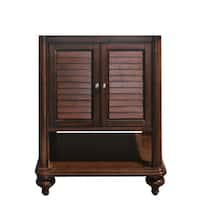Avanity Tropica 24-inch Antique Brown Finish Vanity Only