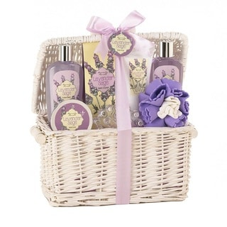 Bath and Body Lavender and Sage Scent Gift Basket