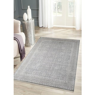 Hand-Knotted Bethel Grey Brown New Zealand Wool Area Rug (9'x12')