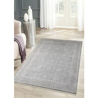 Hand-knotted Bethel Grey Brown New Zealand Wool Area Rug (10' x 14') - 10' x 14'