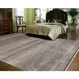 Hand-Knotted Abel Akoroa New Zealand Wool Area Rug (6'x9')