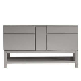 Avanity Tribeca 60-inch Chilled Gray Vanity with base