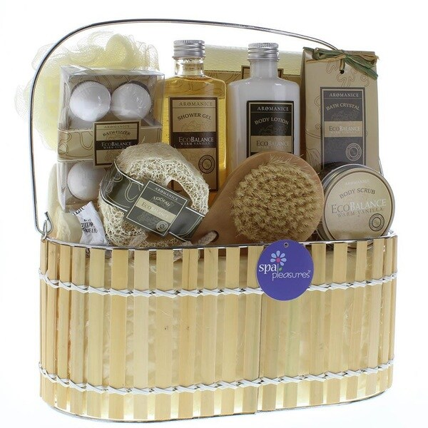 Bath and Body Essentials Vanilla Scent Gift Set