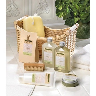 Bath and Body Lemongrass Eucalyptus Scent Gift Set