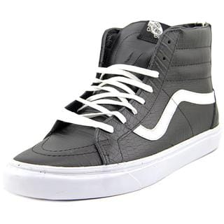 Vans Men's SK8-Hi 46 CA Black Faux Leather Athletic Shoes