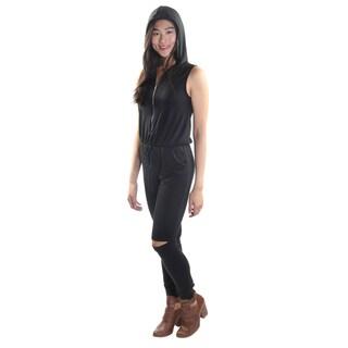 Hadari Women's Sleeveless Jumpsuit