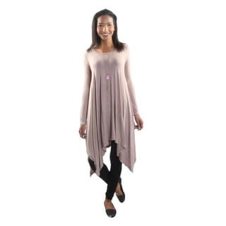 Hadari Women's Long Sleeve Relax fit Dress