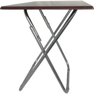 Cherry-finish Oversized TV Tray Folding Table